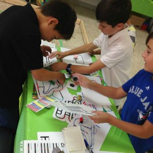 Activities at a Genius Owl Minecraft Birthday Party