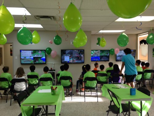 Birthday Party Ideas: Minecraft Birthday Party at Genius Owl