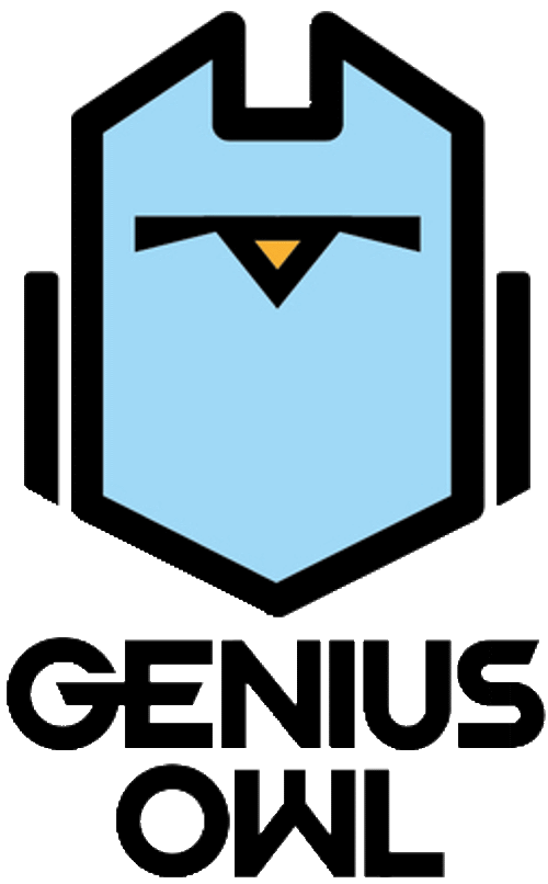 Genius Owl: Themed Birthday Parties & STEM Programs Logo