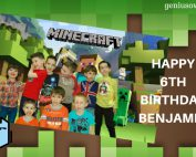 Minecraft Birthday Party is one of the 5 Birthday Party Ideas at Home