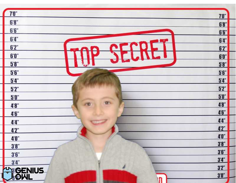 Genius Owl CSI birthday party